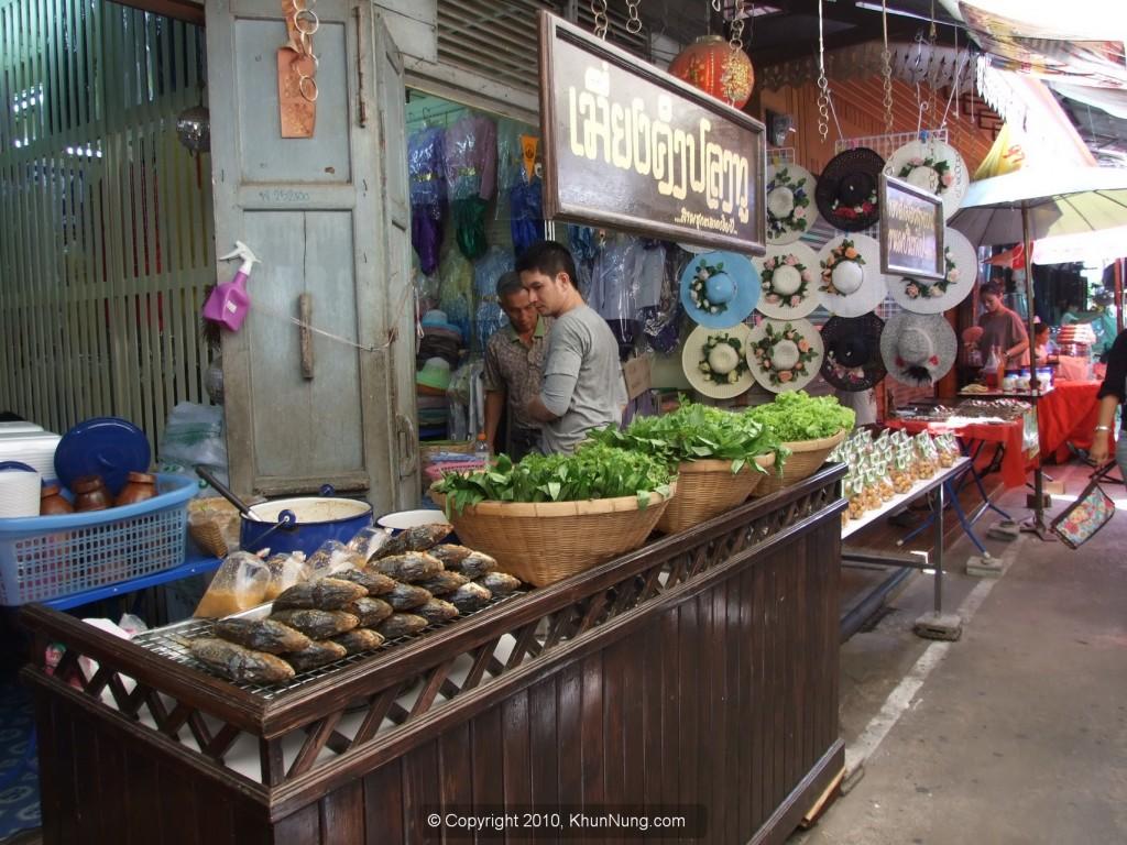 ตลาดสามชุก ตลาดร้อยปี สุพรรณบุรี