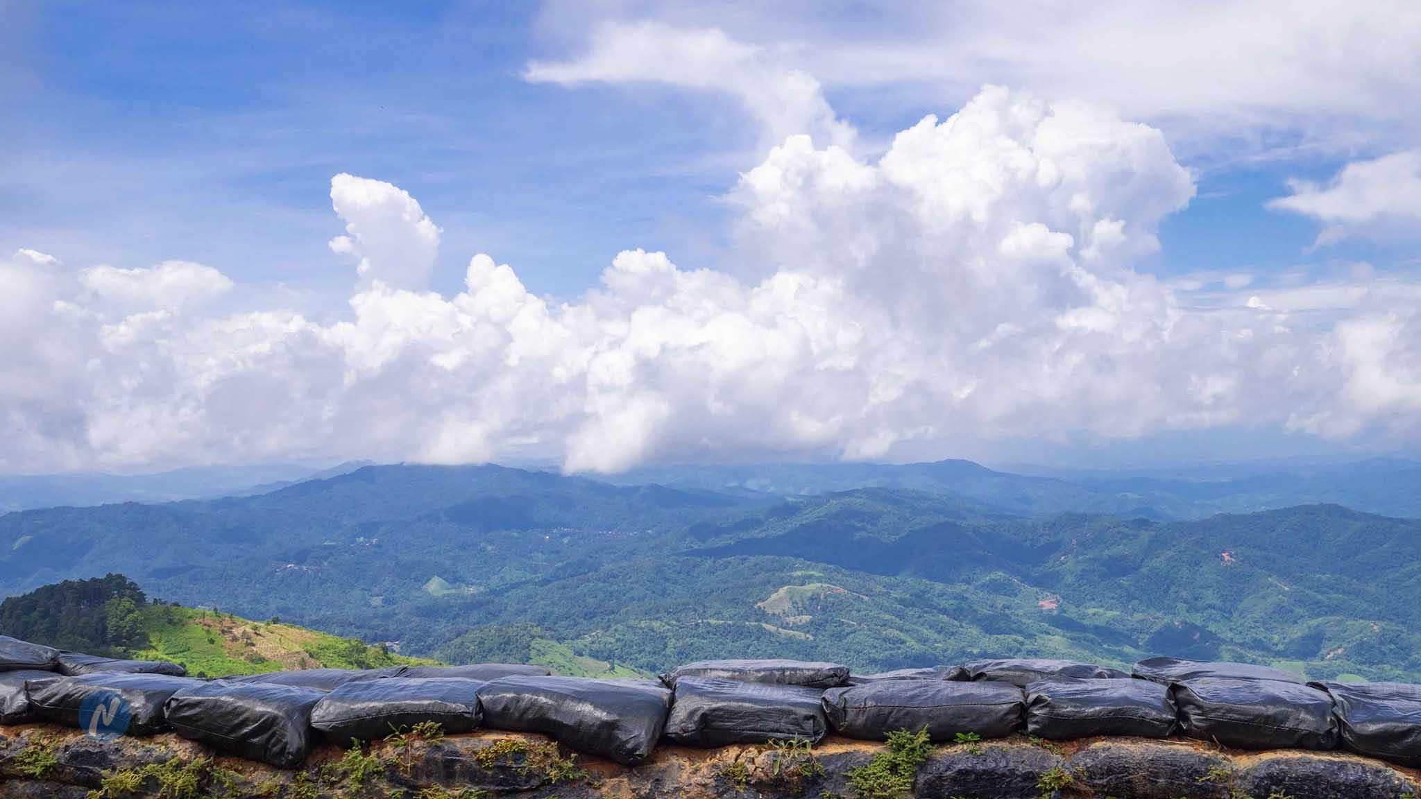เขตชายแดนไทย-เมียนมา ดอยช้างมูบ