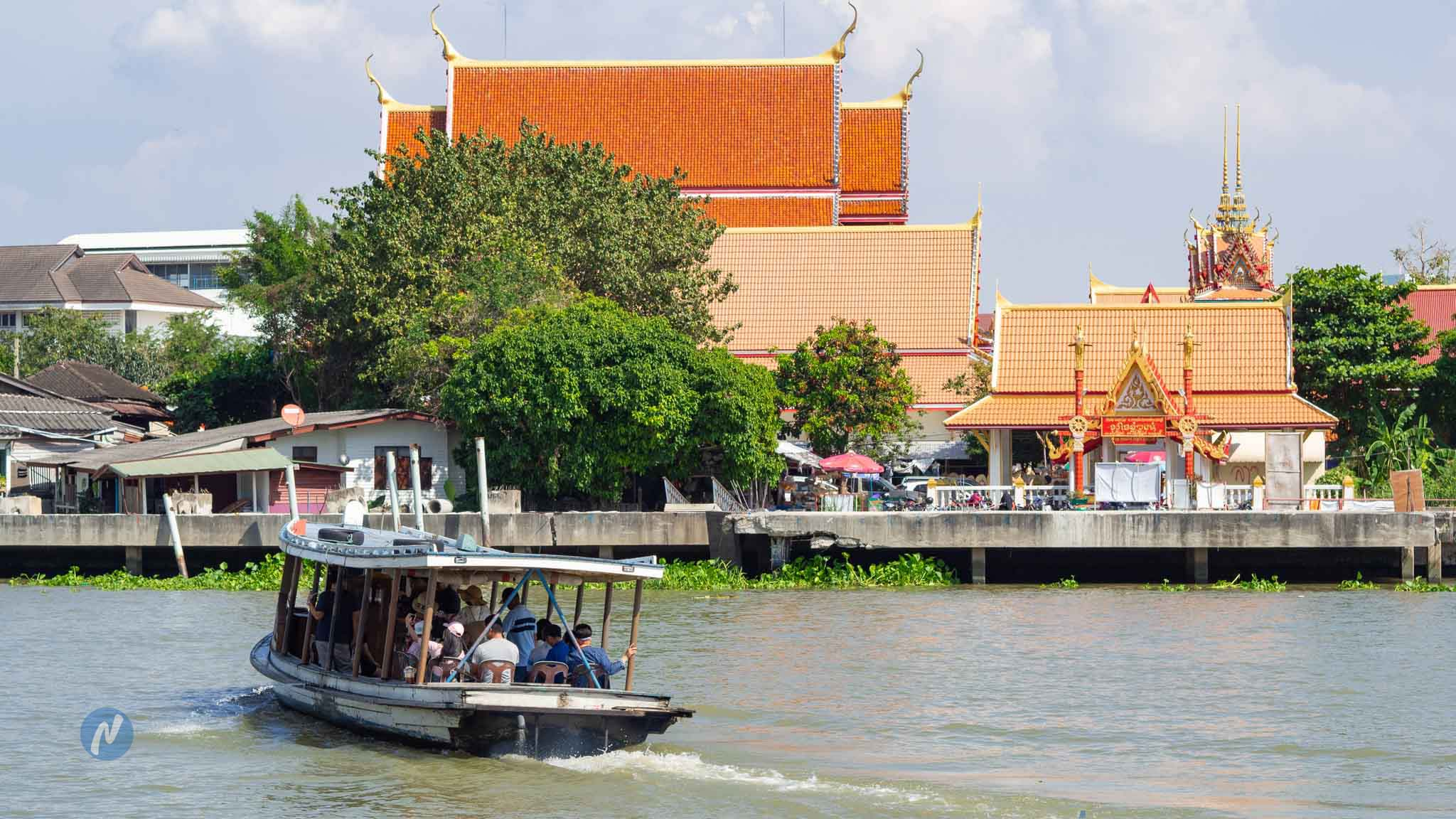 เที่ยวเกาะเกร็ด จ.นนทบุรี Koh Kret Travel by Khunnung.com